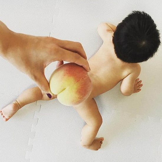 Baby Butts Covered With Peaches | Video