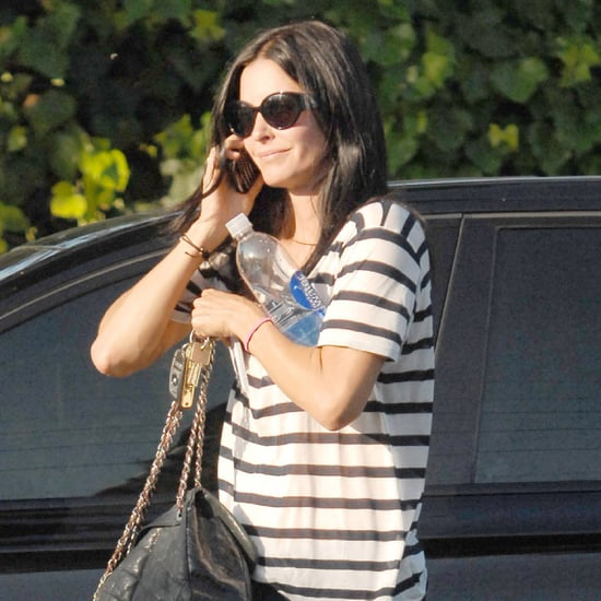 Courteney Cox Shopping With Her Chanel Bag in LA Pictures