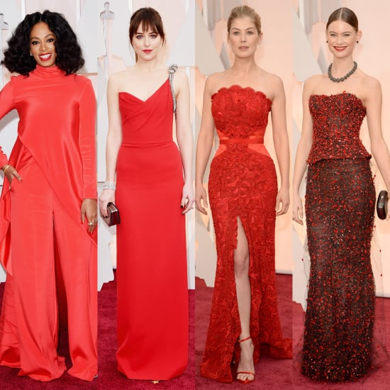 Best Red Dresses at the Oscars 2015