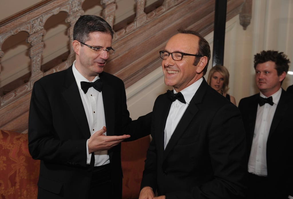 Kevin Spacey had a laugh at the White House Correspondant's Dinner.