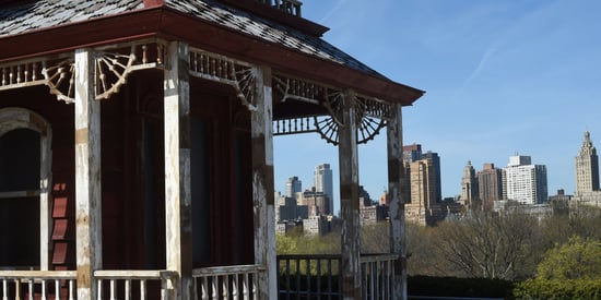 There's A Spooky House Hiding On Top Of The Metropolitan Museum Of Art