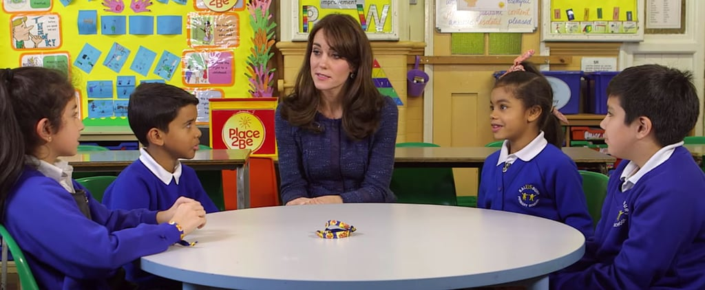 The Duchess of Cambridge Launches Children's Mental Health Week With a Sweet, Sincere Video