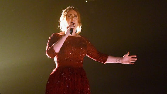 Adele's Reaction To Forgetting The Words To Her Song Is Too Adele