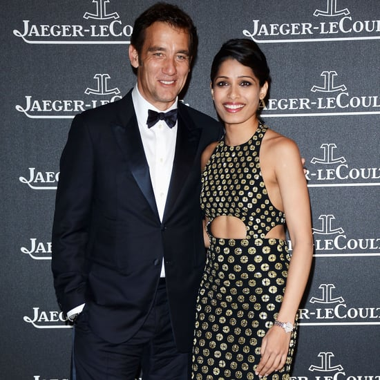 Clive Owen and Freida Pinto Party in Venice | Pictures