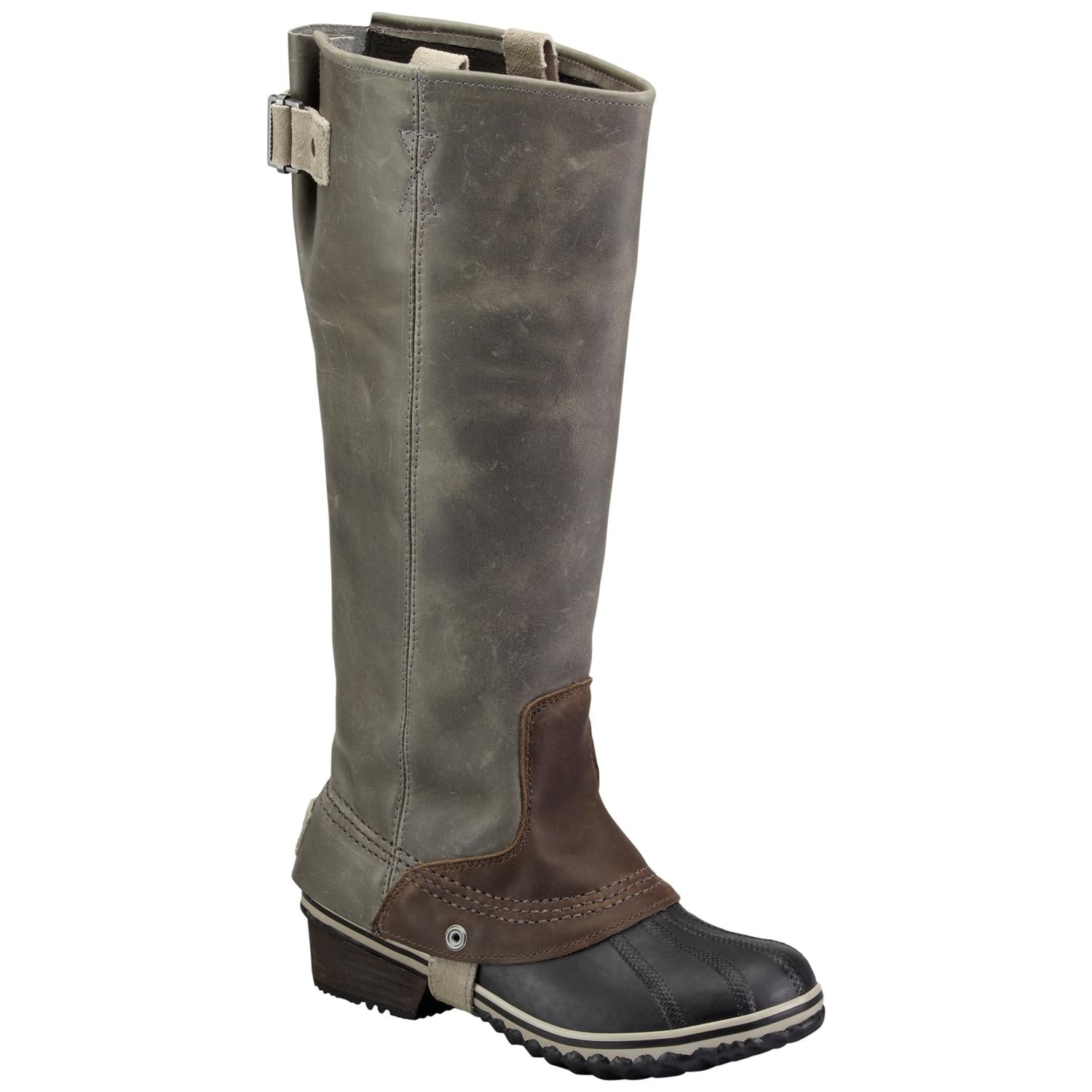 Don't believe for one second that boots have to be chunky and cumbersome to keep your feet and legs warm. This pair of Slimpack Riding Boots from Sorel ($210) has all the sleek appeal of a pair of stilettos and more warmth than you could ask for. — Justin Fenner, assistant editor