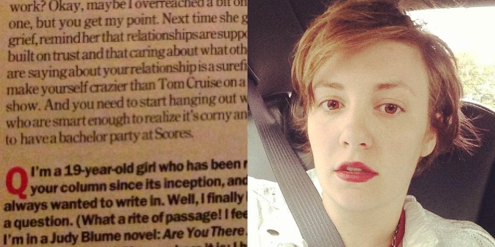 That Time Lena Dunham Was a 19-Year-Old Virgin
