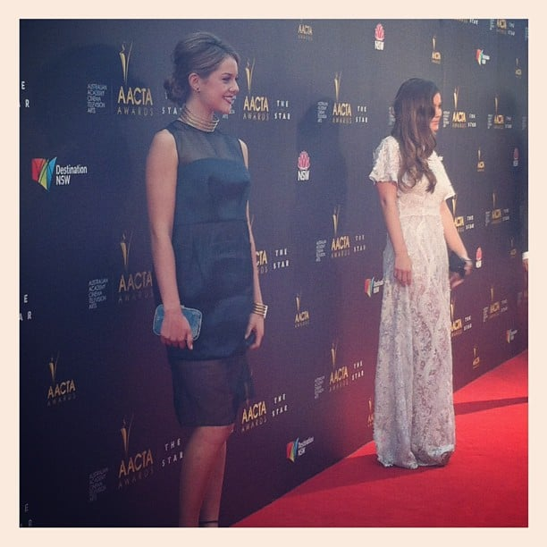 Puberty Blues beauties Isabelle Cornish and Charlotte Best faced the media wall on the red carpet at the AACTAs — and then came and answered some of our questions.