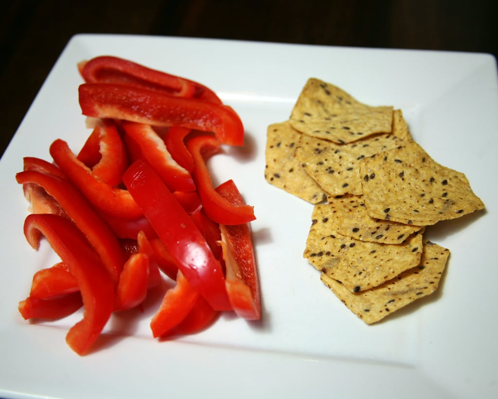 Red Pepper and Corn Chips