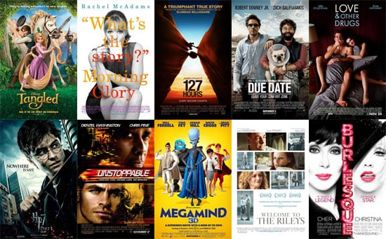 Movie Releases For November 2010