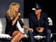 Faith Hill and Tim McGraw were all smiles during the announcement of their Soul2Soul performances.