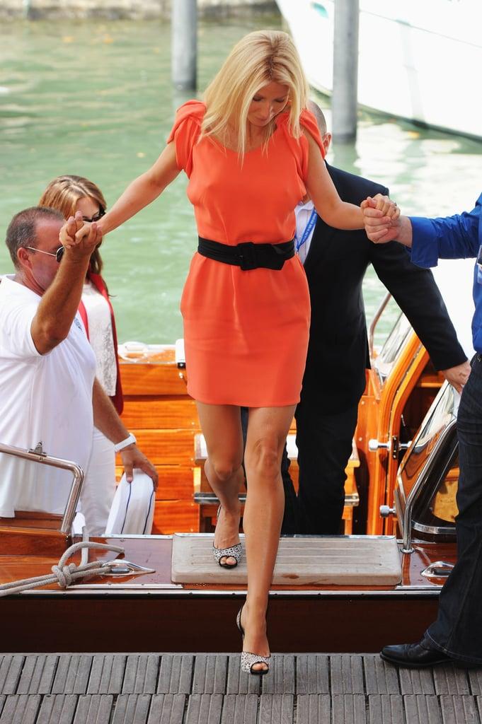 Gwyneth Paltrow in Prada.