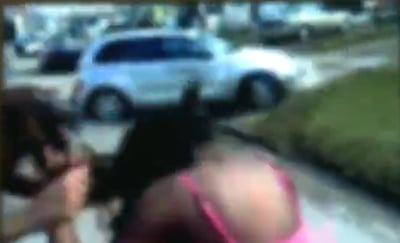 Adults Bystanders Allow Teen Girl to Be Attacked