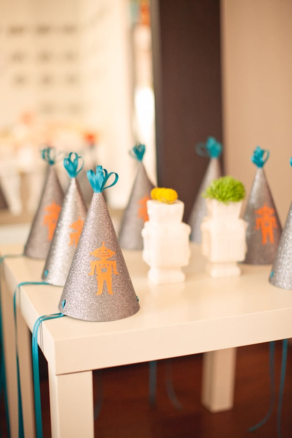 Robot Party Hats