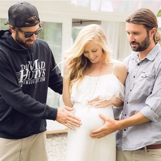 Brody Jenner and Leah Jenner Pregnancy Photo