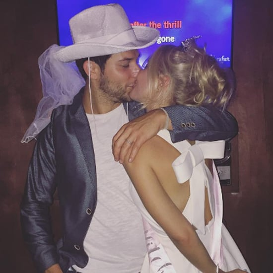 Skylar Astin and Anna Camp Bachelor and Bachelorette Party