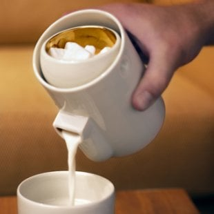 Your Fancy Coffee Deserves a Fancy Milk and Sugar Set