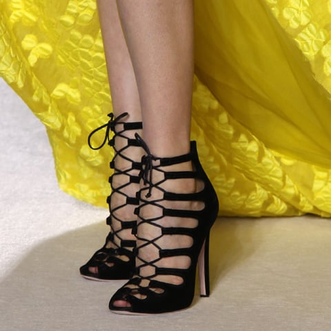 Giambattista Valli Couture Fall 2013 Runway Shoes