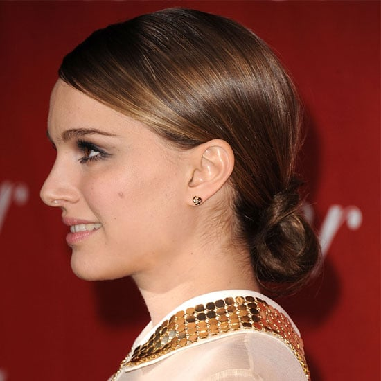 How to Get Natalie Portman's Looped Ponytail