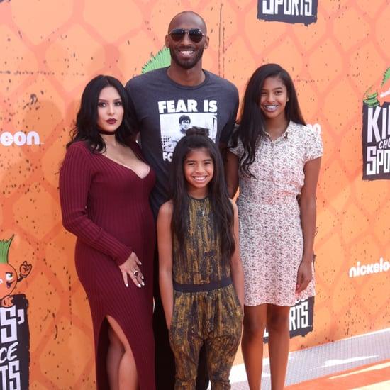 Kobe Bryant and Family at Kids' Choice Sports Awards 2016