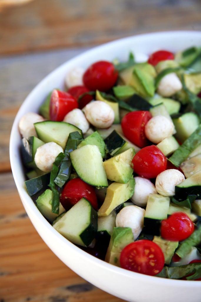 Cucumber-Avocado Salad