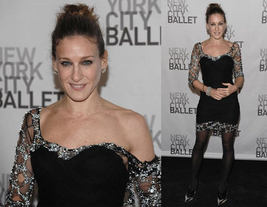 SJP Puts on a Party Dress For the Ballet