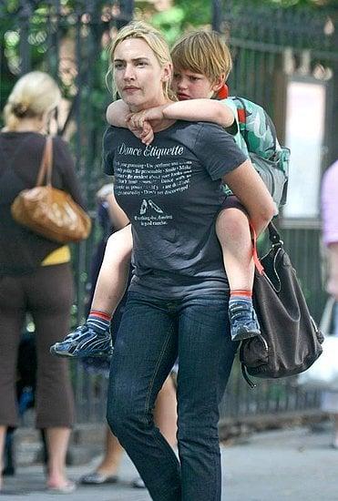 Mini Me: Kate Winslet and Joe Mendes