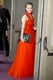 Amanda Seyfried changed into a red gown for the Governors Ball.