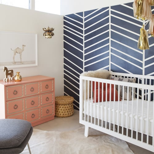 Modern Nursery With Baby Animal Prints From Sharon Montrose