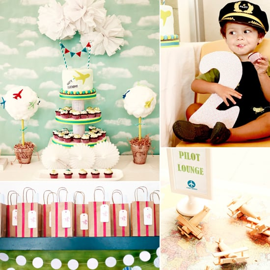 A Cool Airplane Birthday Party