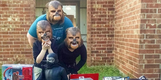 Chewbacca Mom's Family Gets Own Masks And Are Our New #SquadGoals