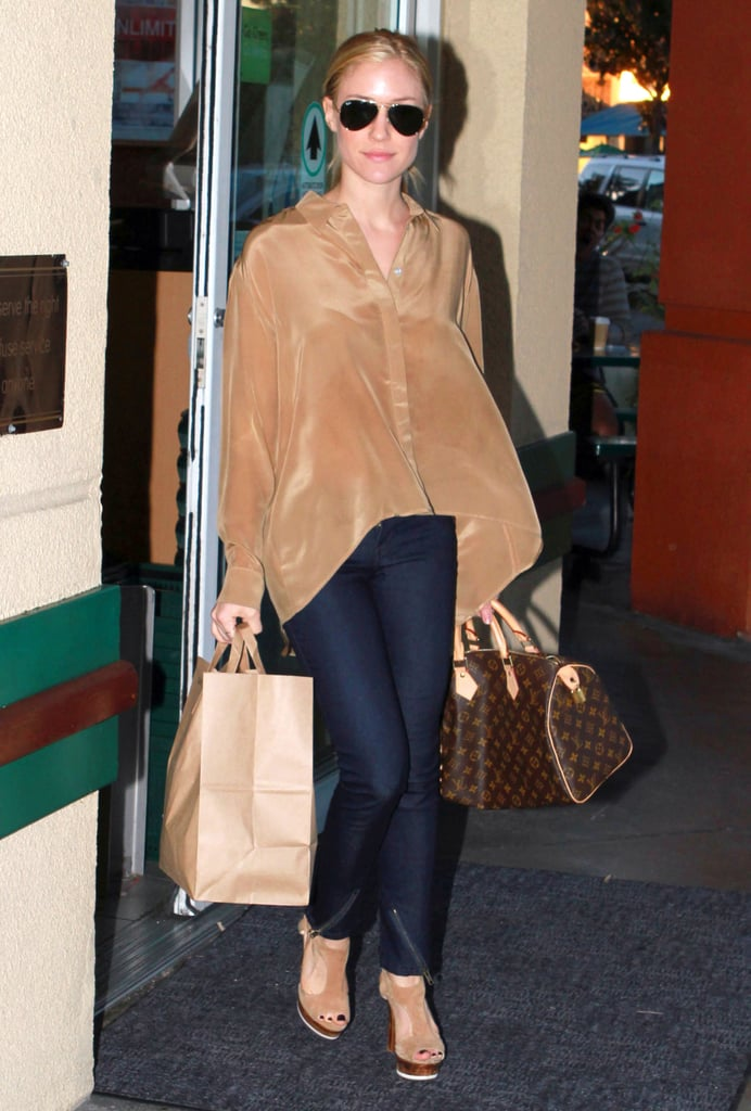 Kristin Cavallari picked up a few things at a health foods store.