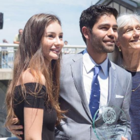 Meadow Walker Presents Adrian Grenier With Paul Walker Award