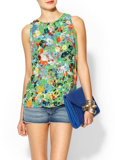 What's not to love about this pretty Pim + Larkin Monet Floral Tank ($49)? Style it up with denim shorts and a slick pair of Summer sandals.
