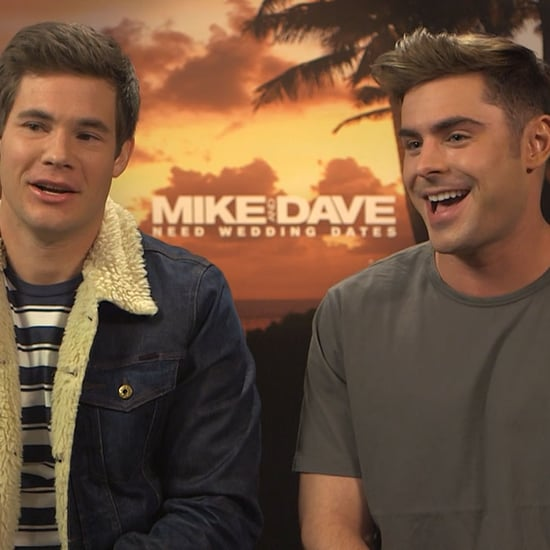 Zac Efron and Adam DeVine Mike and Dave Interview July 2016