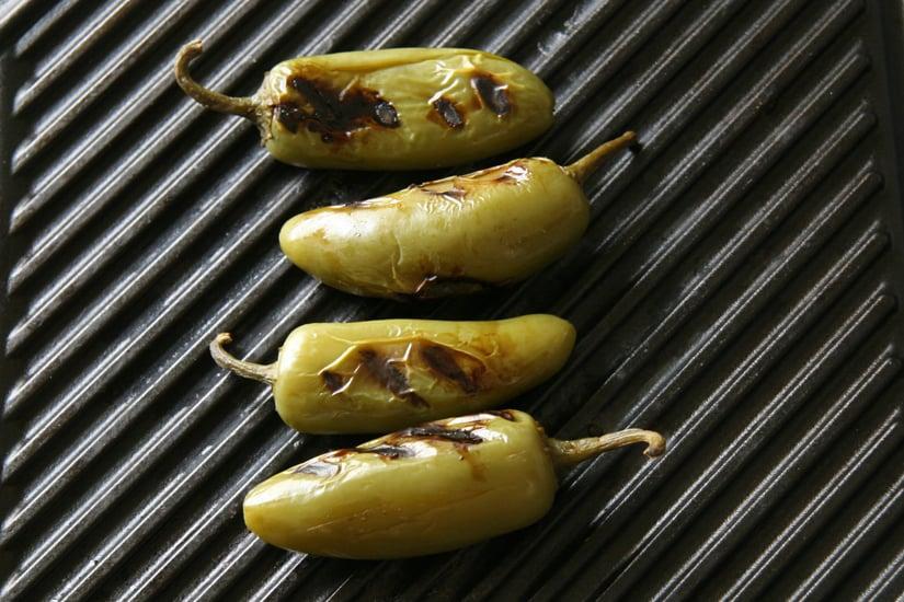 Grilled Pickled Jalapeños
