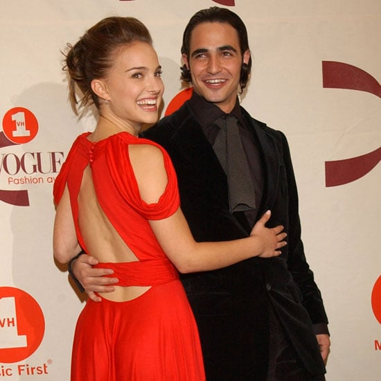 Natalie Portman joined Zac Posen at a New York event in 2002.