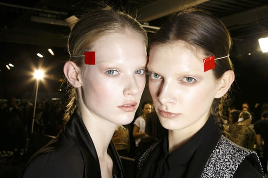 We're in Knots Over the Givenchy Braids for Fall 2014