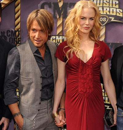 Nicole Kidman and Keith Urban at the CM Awards