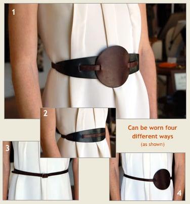 Simply Fab: Des Kohan Four-Way Belt