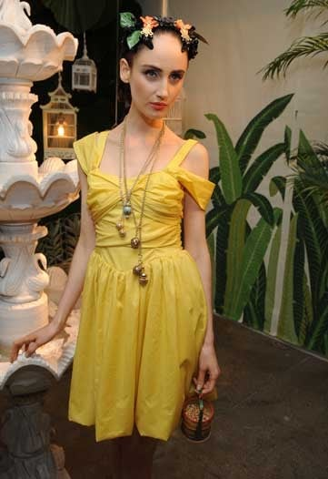Leifsdottir Expands Internationally with Spring 2010 Collection