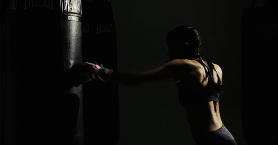 Work Out Like a a Sports Illustrated Model with This Partner Boxing Workout