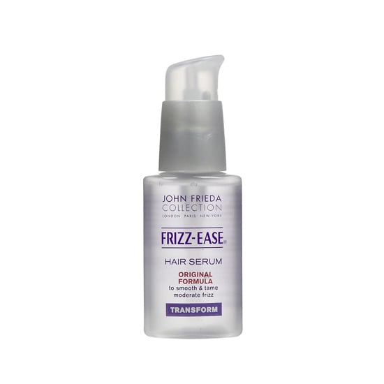 John Frieda Frizz-Ease Hair Serum Original Formula ($10, originally $13) is a cult classic that smoothes out strands for a healthy, frizz-free style.