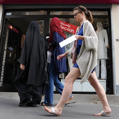 Punishment For Violating France's Burqa Ban