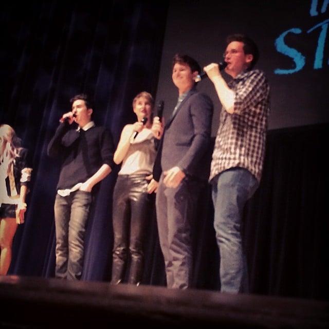 The Fab Four tonight in Nashville! #tfiostn #tfiostour Source: Instagram user popsugar