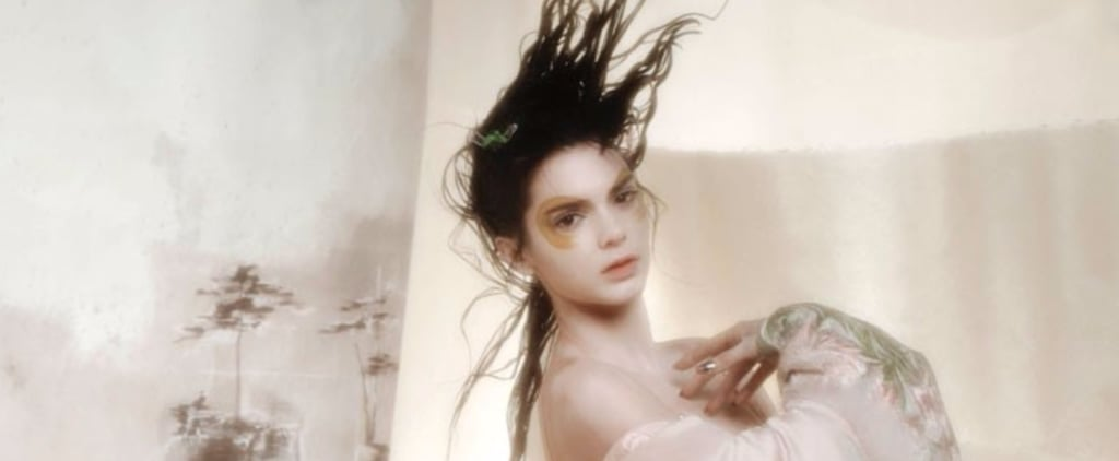 No You Aren't Looking at a Painting, Just Kendall Jenner's Dreamy New Photo Shoot