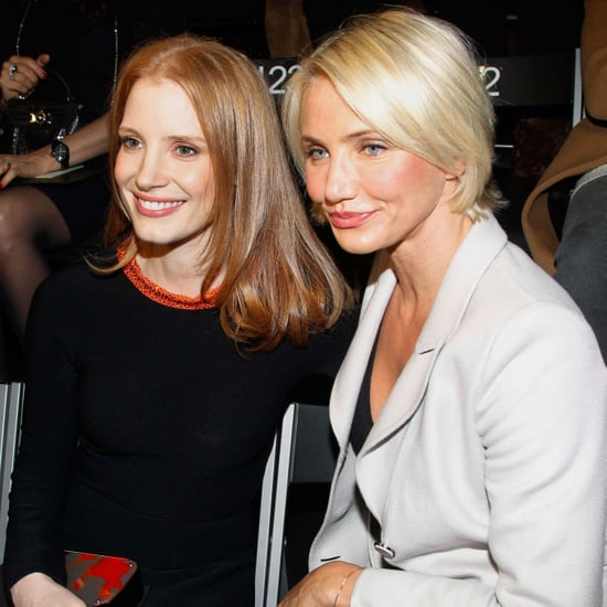 Jessica Chastain and Cameron Diaz at Armani Prive Pictures