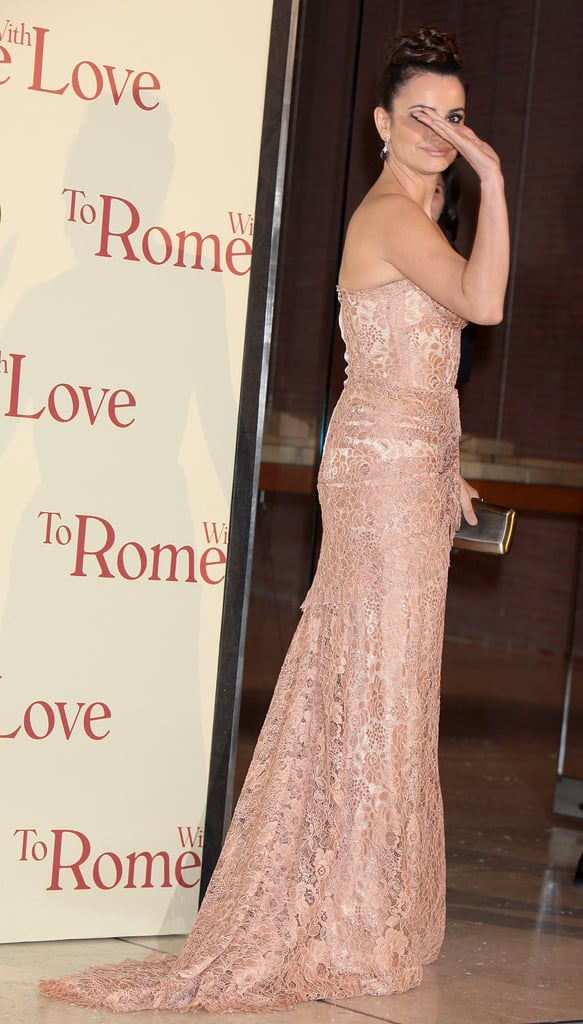 She's Still Got It: Penelope Cruz Smolders At The Italian Premiere Of To Rome With Love
