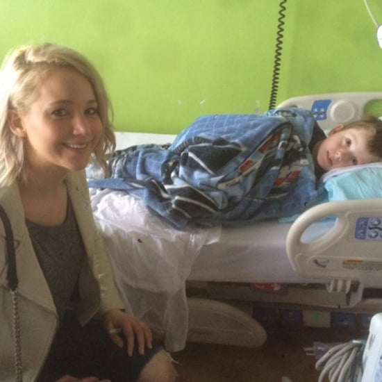 Jennifer Lawrence Visits Children's Hospital December 2015