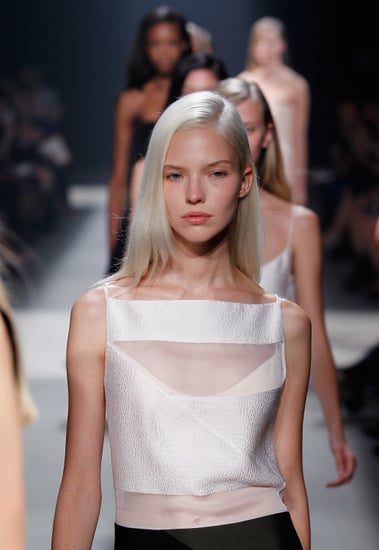 Narciso Rodriguez Shows a Diluted Beauty Look For Spring 2014