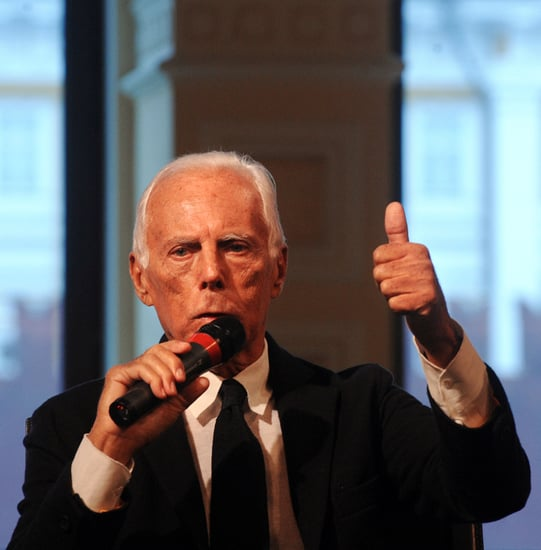 Giorgio Armani Is Thinking About Successors